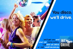 If you need some alcohol to bring out your best dance moves, then you'll also need a plan for getting your car and yourself home safely. Call us on 1300 WEDRIVE or download our smartphone app to get it sorted.