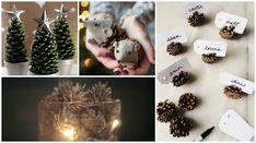 Kreativ med kongler: 10 gode idéer Det er bare fantasien som kan stoppe deg fra hva du kan lage av kongler  Liker du å plukke med deg fine kongler hjem fra skogsturen, men lurer på hva du kan bruke de til? Vi har samlet samme 10 kreative idéer til hva du kan bruke kongler til i høst og vinter. Ornament, Table Decorations, Christmas, Home Decor, Decorating, Navidad, Room Decor, Weihnachten, Christmas Music