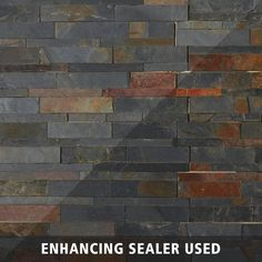 Mustang Splitface Slate Panel Ledger - 6 x 24 - 100083849 Slate Stone, Stone Tiles, Faux Stone, Brick Face, Slate Fireplace, Earth Tone Colors, Wall Carpet, Stone Veneer, Modern Carpet