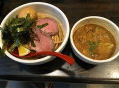 特製牛モツつけ麺 #つけ麺 by sreddevils