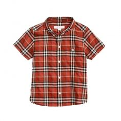 Checked Kid's Shirt