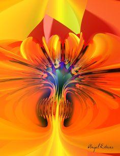 Abstract 116 3D Art. www.angelestevez-art.com
