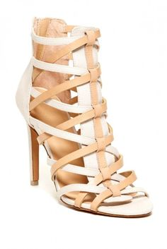 Evin Heeled Gladiator Sandal  Mama Mia - yes I LIKE!!!