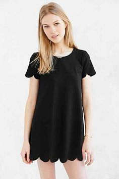 Cooperative Scallop Tee Dress - Urban Outfitters