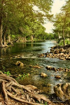 Texas has beautiful rivers