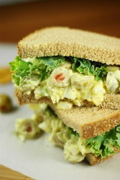 Egg Salad with Olives - I haven't had one of these in over 10 years; I want one!!