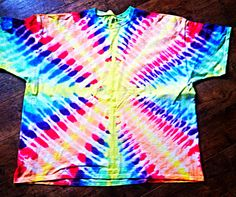 Tie dyed rays