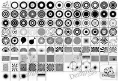 The Ultimate Collection Of Photoshop Custom Shapes