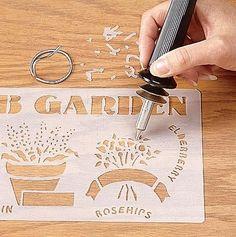 Dremel Accessories Catalog | Dremel 1550 VersaTip Multipurpose Tool Kit - For Stencil Cutting
