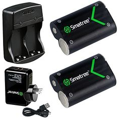 Smatree Rechargeable NIMH Battery 2000mAH 2Pack  DualChannel Charger for Xbox One  Xbox One S Wireless Controller >>> Details can be found by clicking on the image.Note:It is affiliate link to Amazon.