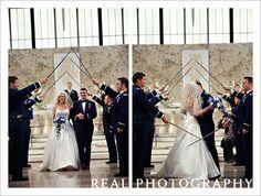 air force academy chapel wedding USAFA arch saber detail colorado springs wedding photographers