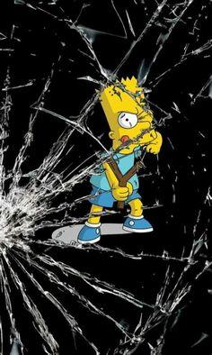 "=》""Qué has hecho Bart"" 🤦🏻♂️ Mickey Mouse Wallpaper Iphone, Simpson Wallpaper Iphone, Apple Wallpaper Iphone, Trippy Wallpaper, Graffiti Wallpaper, Cartoon Wallpaper Iphone, Locked Wallpaper, Black Wallpaper, Disney Wallpaper"