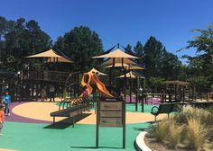 Playground that includes Accessibility and Inclusion, Uses Nature to Nurture, Build Positive Relationships, and Creates Diverse Spaces and Activities. Laurel Hill, Outdoor Play Spaces, Activities For Kids, Group Activities, Elements Of Nature, Hill Park, Soft Play, Parking Design, Best Practice