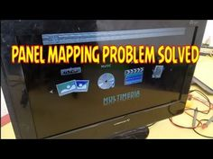 Panel mapping problem solution About this Video:- in this video I'm telling how to repair panel mapping problem in any LCD LED panel also showing live repair. Tv Backlight, Tv Panel, Problem And Solution, Flat Screen, Map, Youtube, Tv Feature Wall, Blood Plasma, Location Map