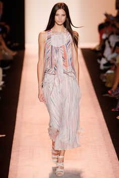 BCBG Max Azria Spring 2015 Ready-to-Wear Fashion Show - Anja Leuenberger (ELITE)