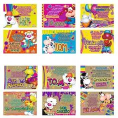 tarjetas maguz Mugs, Frases, Amor, Bag Packaging, Smileys, Happy Birthday, Plushies, Packing, Crates