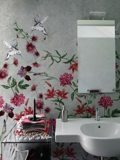 Colibreeze, Wall and decò Contemporary Wallpaper