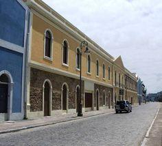 Maceió, Alagoas, Brasil - bairro Jaraguá, centro histórico