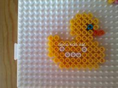 Duck hama perler beads by deco.kdo.nat