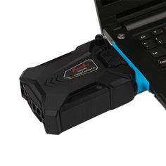 5Fans Cooling Cooler Pad PC Laptop Notebook LED USB Adjustable Stand LOT SALE TN