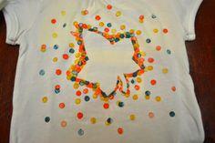 TIP GARDEN: Stencil Dot T-shirts