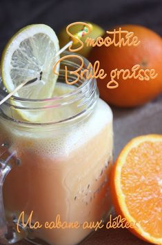Recette smoothie minceur orange citron