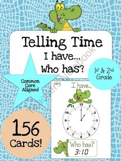 Telling Time Bundle product from Jasons-Classroom on TeachersNotebook.com