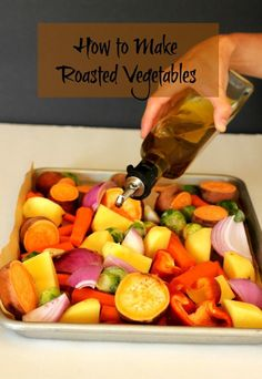Roasted veggies | carmelmoments.com
