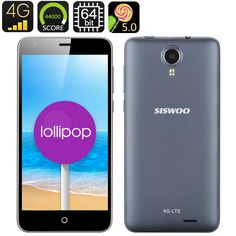 http://www.andnykstore.com/siswoo-i7-cooper-android-5-0-4g-smartphone.html The Siswoo i7 Cooper phone, a phone with so many highlights that we don't know where to start. Besides the latest Android 5.0 operating system and 4G for super fast internet speed, this mobile phone is crazy powerfull with a eight core 1.5GHz 64 bit processor and 2GB of RAM. 64bit processors are hot in 2015 because it's more energy efficient and way much more faster when.....