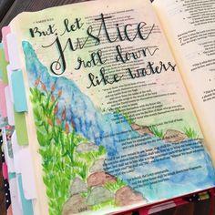 New Bible, Bible Art, Book Art, Journal Inspiration, Daily Inspiration, Journal Ideas, Amos Bible, Scriptures, Bible Verses