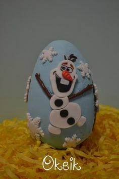 Olaf Frozen chocolate easter egg