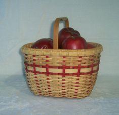 Handwoven Basket: Biscuit Basket by BasketsByMona on Etsy