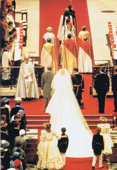 Royal Wedding of Prince Charles & Lady Diana Spencer July 29, 1981.