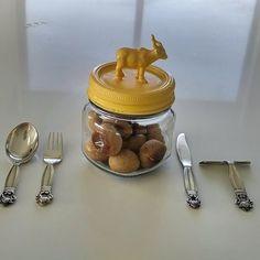 Dessert Tea Coffee 4 Piece Spoons Set Acorn /& Leaves Object D/' Arts Cocktail