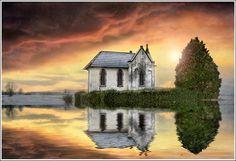 Double chapel   Ried - Alsace - France   Jean-Michel Priaux   Flickr