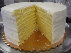 Lemon smith island cake :) Lemon Recipes, Cake Recipes, Smith Island Cake, Cute Cupcakes, Holiday Desserts, Let Them Eat Cake, Cake Cookies, Yummy Cakes, Vanilla Cake