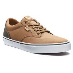 Vans Winston DX Men's Two-Tone Skate Shoes, Red/Coppr (Rust/Coppr)