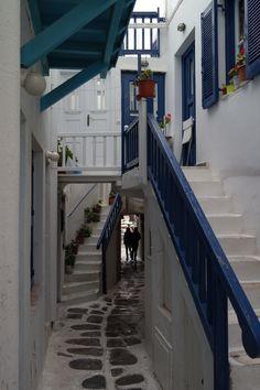 A little street in Mykonos, Greece (2014)