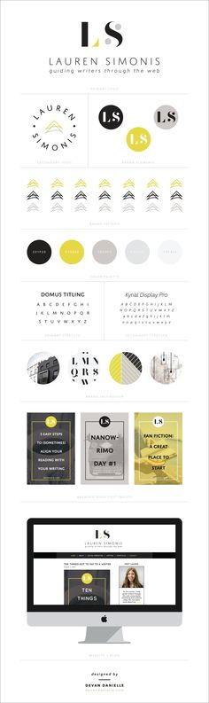 New Branding Design Work + The Process from Start to Finish