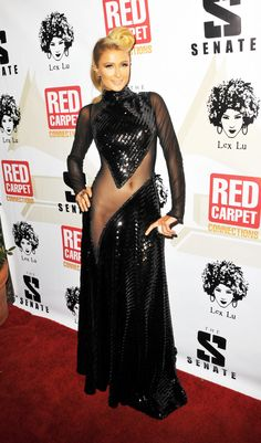 Galeria Paris Hilton Brasil - 4th P. Diddy's Annual Red Carpet Pre-Grammy (23 de Janeiro)/Kosty555 info -00002