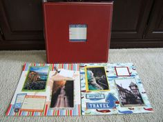 Premade Road Trip Scrapbook Album.  $94.99  Ready for your 4 by 6 photos.  20 pages.