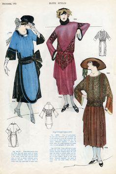 myvintagevogue - December, 1921 Elite Styles