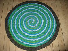 Nørkle Tøserne: DIY Zpaghetti-spiral-tæppe