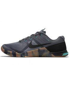best sneakers d22b1 1d3be Nike Metcon 2 Homme Gris Vert Noir