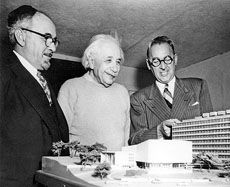 On March 15, 1953, the day following his 74th birthday, that Professor Albert Einstein formally agreed to permit his name to be used for the first medical school to be built in New York City since 1897.