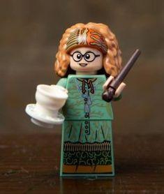 LEGO Minifigures Hermione Granger /& Chat Harry Potter FANTASTIC BEASTS 71022 nouveau