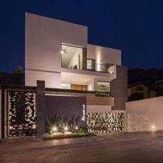 Fotos de Casas de estilo Minimalista : Detalle de exterior