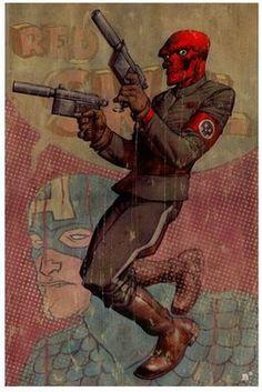 Red Skull - Nic Klien