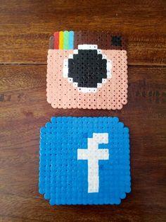 Social media hama beads
