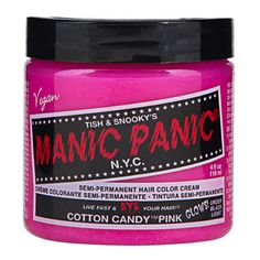 Manic Panic Cotton Candy Hair Dye | Spotted on @lateafternoon